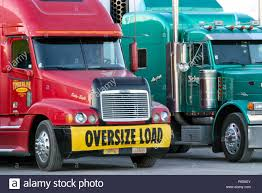 Oversize Load Truck Lorry Stock Photos & Oversize Load Truck Lorry ...