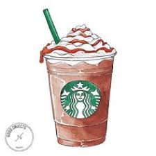 Drawings On Pinteres Art Starbucks Clipart Frappuccino Illustration Clip Freeuse Library
