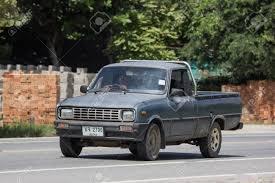 100 Mazda Mini Truck Chiangmai Thailand September 7 2018 Private Car Family