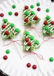 Rice Krispie Christmas Tree Ornaments by Christmas Tree Rice Krispies Treat Pops Easy Holiday Treat Idea