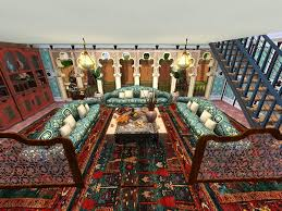 Safari Living Room Decor by 4 V Living Room Moroccan Style Interior Decorating 2 Moroccan