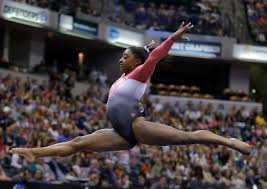 Simone Biles Floor Routine Score by Simone Biles Routs Olympic Champions For Third Straight P U0026g