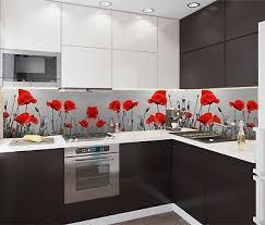 küchenrückwand sp354 mohnblume spritzschutz fliesenspiegel