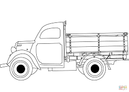 100 Truck Color Pages Classic Coloring Page Free Printable Ing