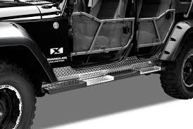 Warrior Products Tube Doors Front Jeep JK