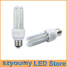 e27 e14 u shaped corn led bulb light l smd 2835 7w 85 265v led
