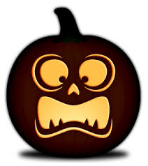Free Ninja Turtle Pumpkin Carving Template by Free Pumpkin Carving Templates Simple Faces Orange And Black