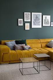wienerwohnsinn wandfarbe grün malerei wohnzimmer mrshausner