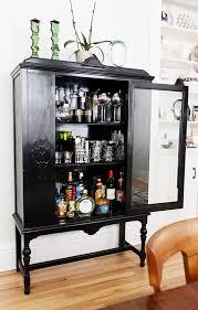hausbar möbel speisezimmereinrichtung vintage wohnzimmer