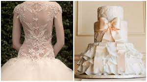 ST PUCCHIMatching Your Cake to Your Wedding Dress