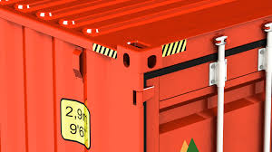 100 Shipping Container Model Detailed 40 Ft Shipping Container 3D Model