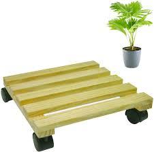 holz pflanzenwagen blumenwagen pflanzenroller