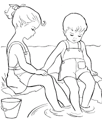 Free Coloring Pages For Kids Summer
