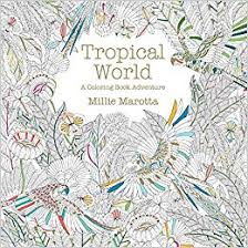 Tropical World A Coloring Book Adventure Millie Marotta Adult 9781454709138 Amazon Books