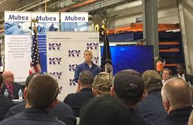 Ky Labor Cabinet Facebook by Ky Labor Sec Ramsey Joins Mubea Apprentices Execs To Celebrate