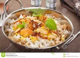 biryani indian cuisine chicken biryani indian curry food cuisine stock image image of
