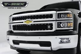 T-Rex 2014 Chevy Silverado 1500 Grilles Available Now! | STILLEN ... 2015chevysveradohdcustomsportgrille The Fast Lane Truck Eternity Custom 2002 Chevy Silverado Photo Image Gallery Status Grill Accsories New Grille Options For The Chevrolet 1500 Bumper Ebay 07 Tahoe Black Billet Grille And Headlight Covers 2500hd Questions Does Anyone Make A Custom How To Install Trex Torch Youtube Mytightridecom Trex Join Dominate Automotive Billet 2014 Grilles Available Now Stillen