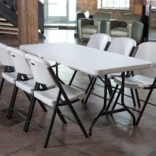 Walmart Outdoor Folding Table And Chairs by Lifetime Classic Commercial Folding Chair Set Of 4 Walmart Com