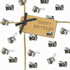birthday card camera design
