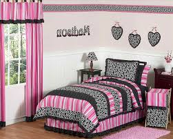Girl Girls Bedroom Ideas Zebra Showing Double White Lantern Over Wooden Bed About Room Decor On