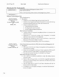 Architecture Resume Examples Better Architect Samples Luxury 0d Good Looking