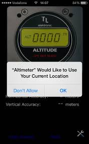 How to Use The iPhone Altimeter