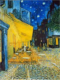 gallery print caféterrasse am abend vincent gogh