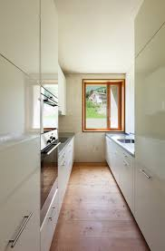 32 Galley and Corridor Kitchens