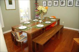 Extra Long Dining Room Table Dinning Upholstered Bench Kitchen Seating With Storage