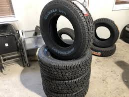 4-MASTERCRAFT COURSER LTR LT265/70R17 - Lot #543, Truck, Trailer ...