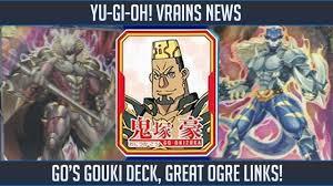 yu gi oh vrains go s monsters revealed new gouki archetype