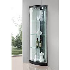 modern corner curio cabinet house decorations