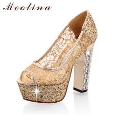 popular gold platform heels buy cheap gold platform heels lots