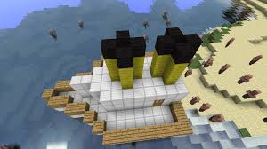 Minecraft Titanic Sinking Map by 1 2 5 Mini Titanic Maps Mapping And Modding Java Edition