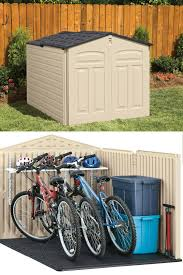 Rubbermaid Roughneck Shed Accessories by Horizontal Storage Sheds Outdoor U2013 Slide Lid Roof Garden Shed