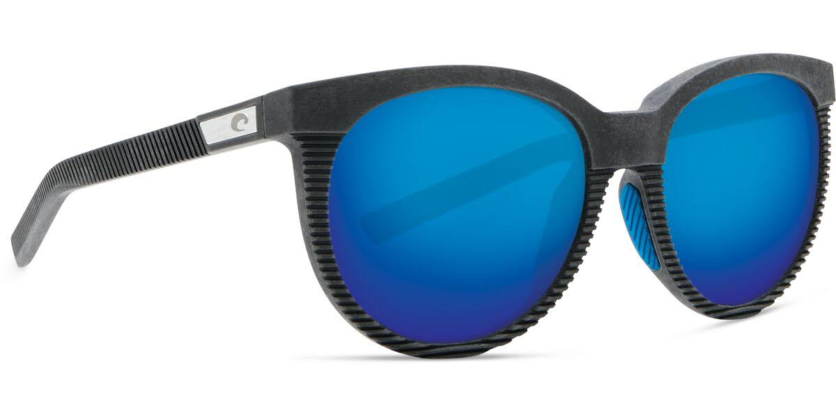 Costa Del Mar Sunglasses - Grey Frame & Blue Mirror
