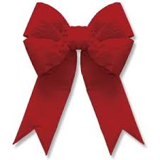 Red Christmas Bow 05