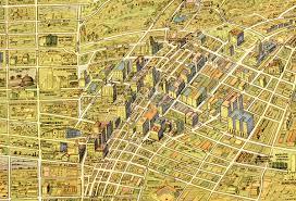 1932 Children's Map Of Los Angeles