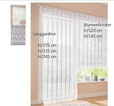 fertiggardine metee weiß stores blumenfenster