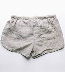 linen lounge shorts grey women u0027s clothing brooklyn beach