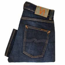 nudie jeans grim tim dark sparkles denim jeans