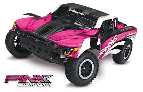 100 Best Rc Short Course Truck Traxxas 2WD Slash Race WPink Body TRA58024PINK