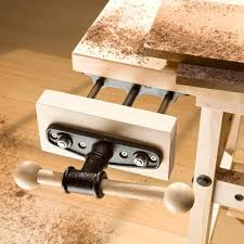 heavy duty quick release front vise rockler woodworking and hardware