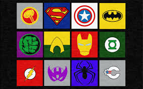 Marvel and Justice League Superheros Rug Rug Rats