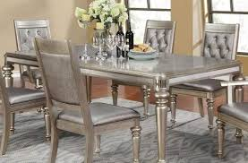 Value City Furniture Kitchen Sets by Entranching Coaster Manessier Contemporary Glass Dining Table