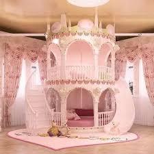 bedroom princess slide children bed lovely