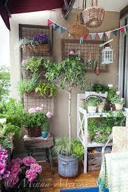 Apartment Balcony Garden Best Small Ideas On Balconies Regarding