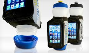Clean Bottle Water With Phone Case