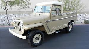 100 Truck Jeep BarrettJackson Hidden Gems 1955 Willys Pickup MotorTrend