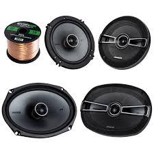 100 Truck Stereo Systems Car Speaker Set Bundle Combo With 2 Kicker 41KSC694 6x9 Car Speaker